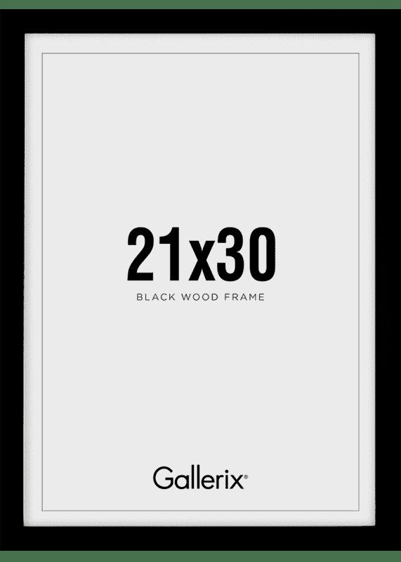 Kuvakehys Mustat Puukehykset 21x30-0