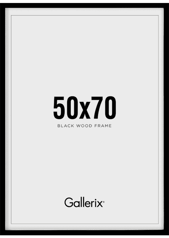 Kuvakehys Mustat Puukehykset 50x70-0