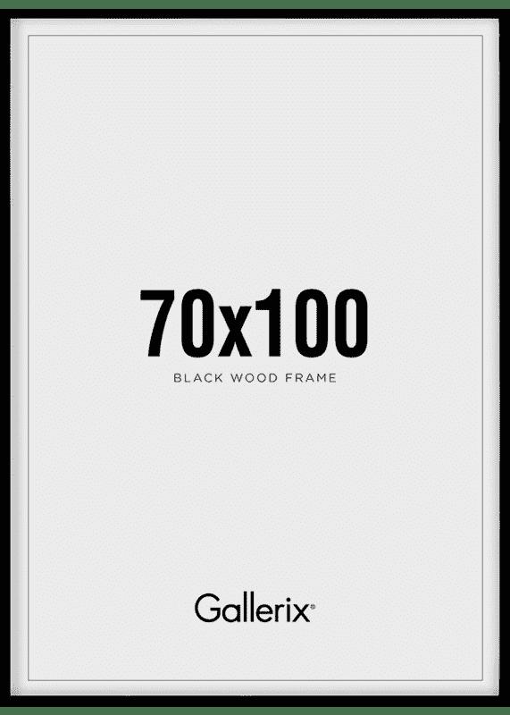 Kuvakehys Mustat Puukehykset 70x100-0
