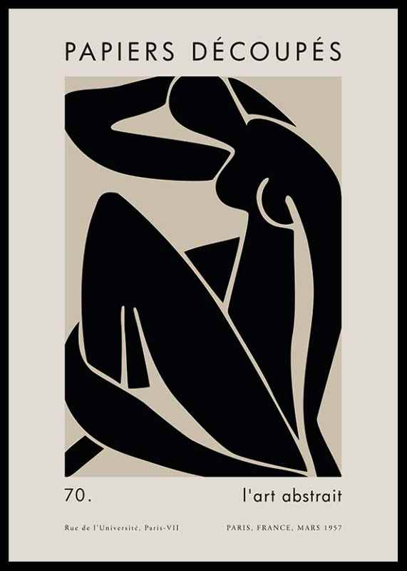 Matisse Cutout Woman