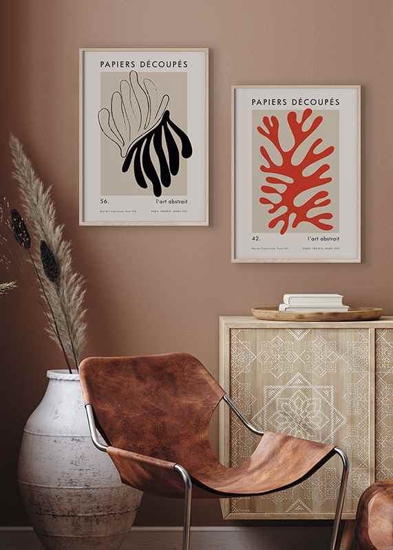 Matisse Cutout Red-2