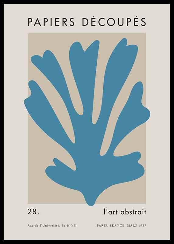 Matisse Cutout Blue