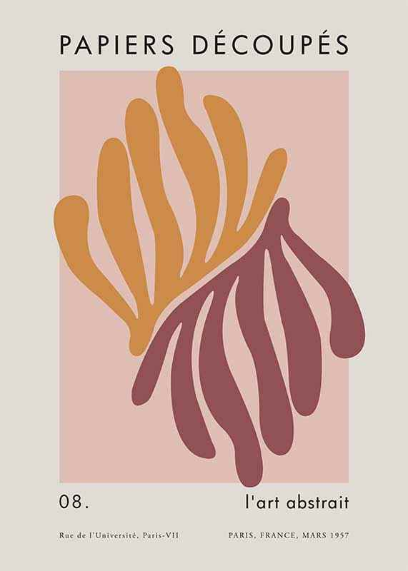 Matisse Cutout Coral-1