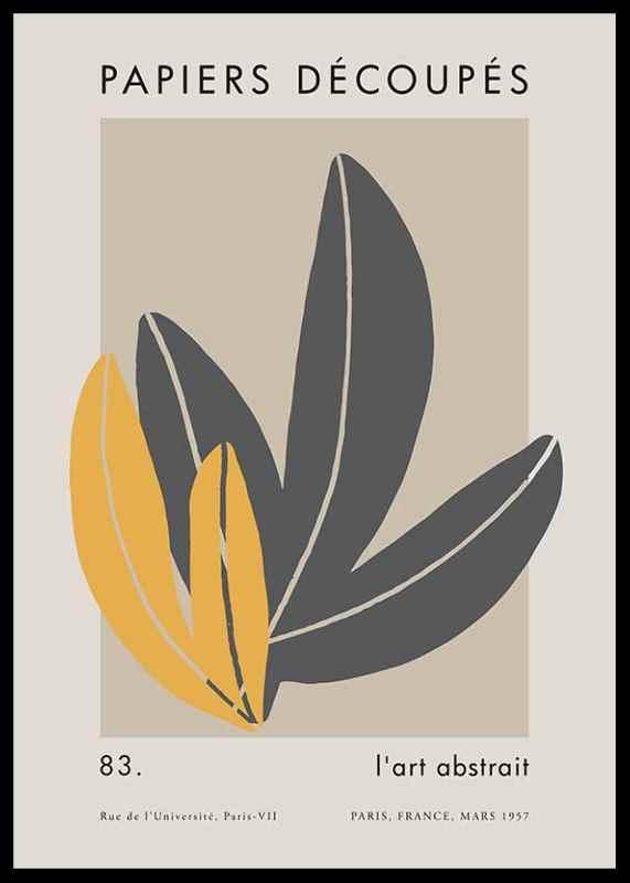 Matisse Cutout Leaves-0