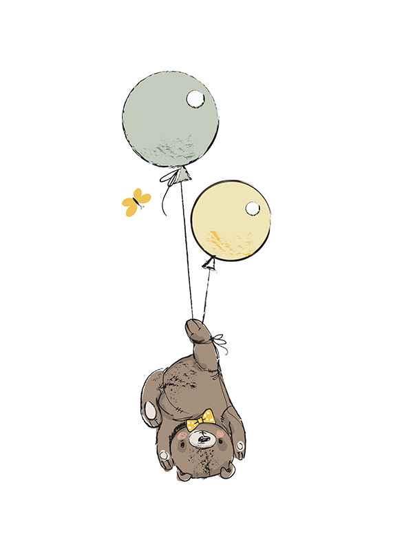 Animals And Balloons No3-1