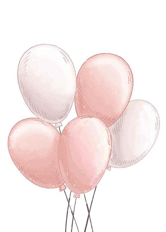 Pink Balloons-1