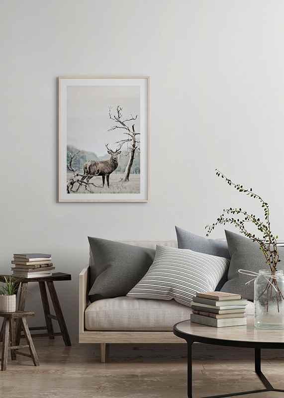 Winter Deer-4