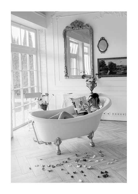 In the bath-1