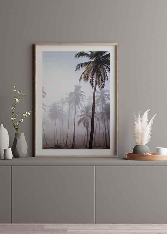 Palms In Haze-4