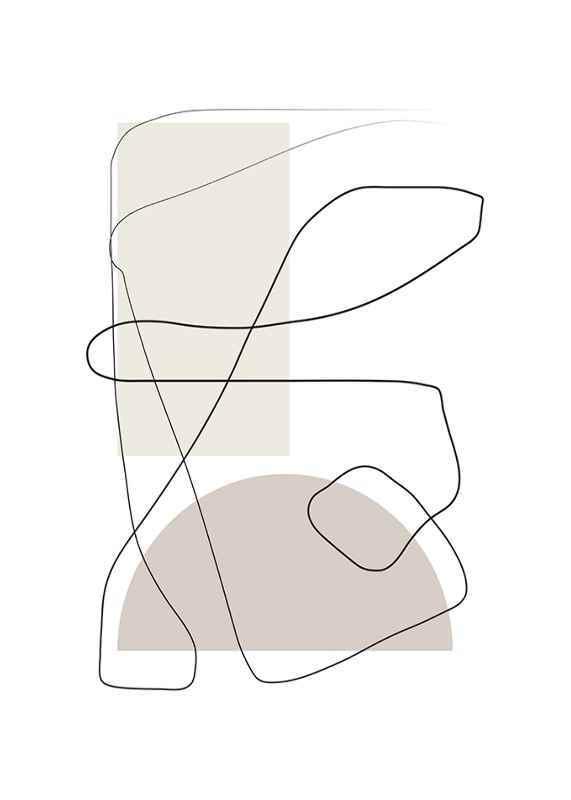 Art des Lignes No1-1