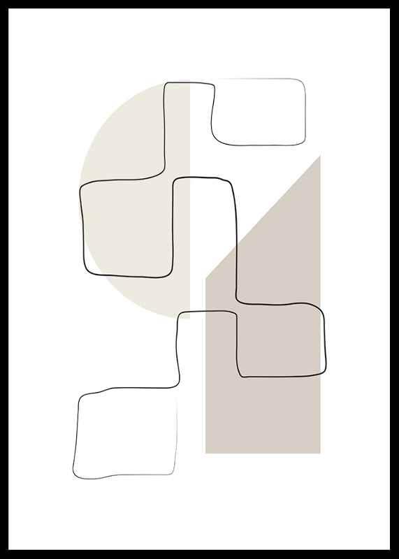 Art des Lignes No3-0