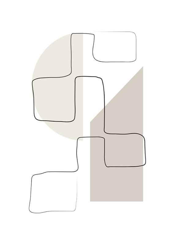 Art des Lignes No3-1
