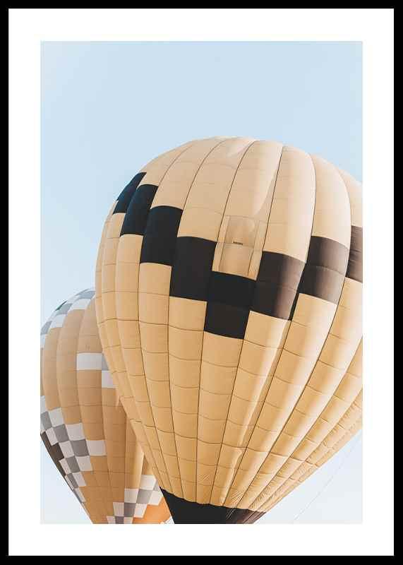 Yellow Air Balloons