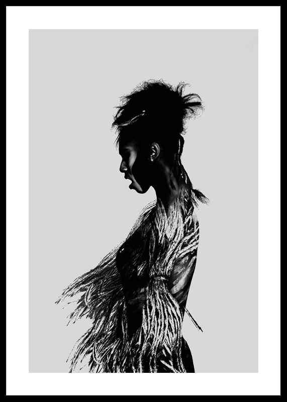 Black Woman Paint