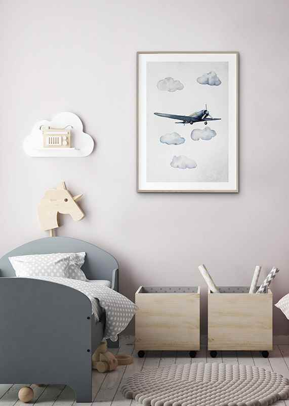 Watercolor Airplane-4