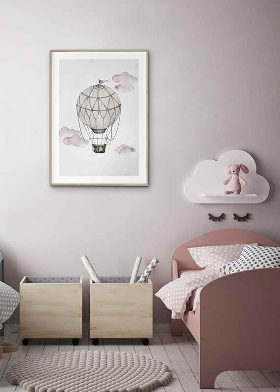Watercolor Hot Air Balloon-4