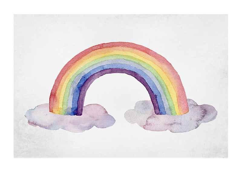 Watercolor Rainbow-1