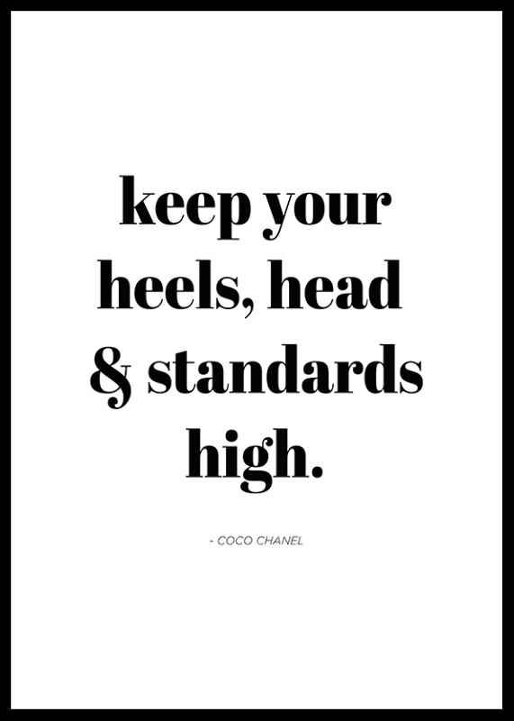 Chanel Standards