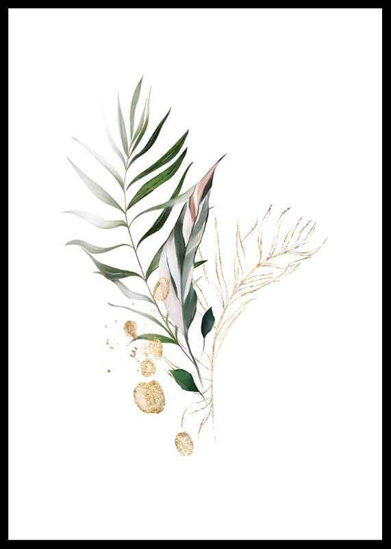Watercolor Botanical No4-0