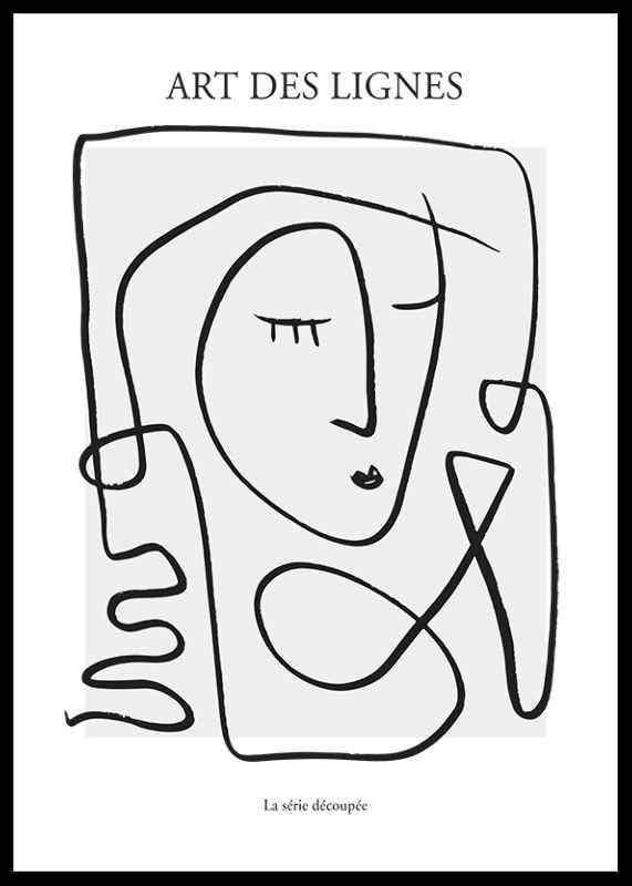 Art De Lignes No3