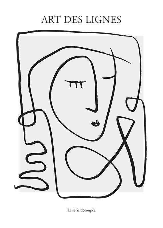 Art De Lignes No3-1