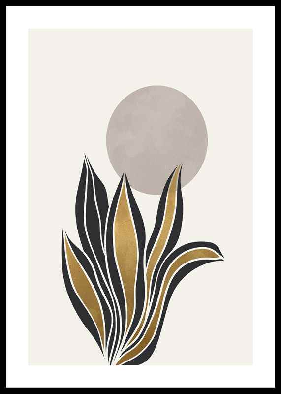 Watercolor Gold No2