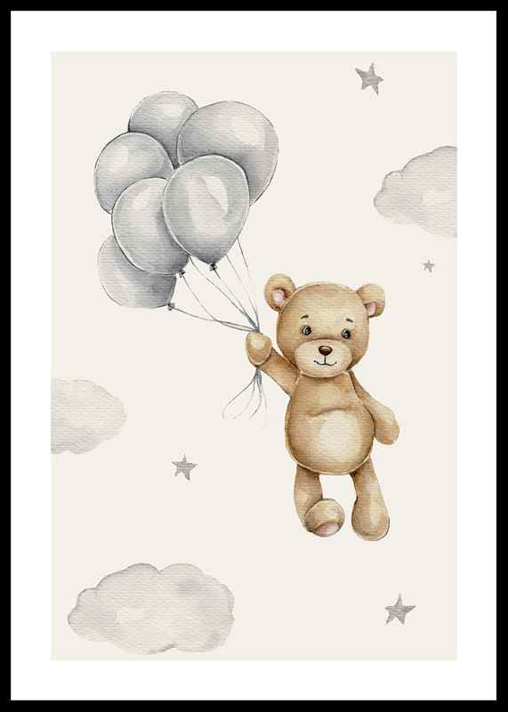 Balloons Teddy