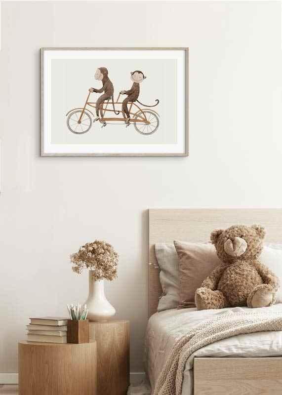 Monkey Bicycle-4