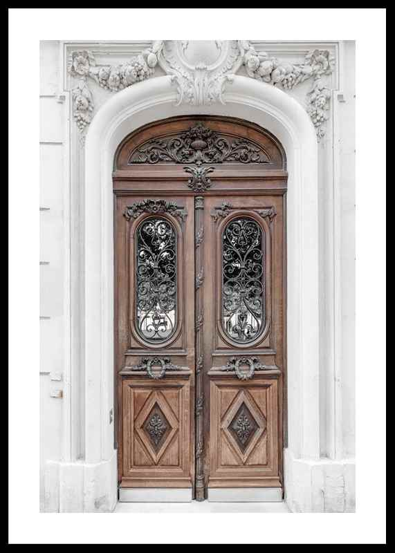 Brown Double Door-0