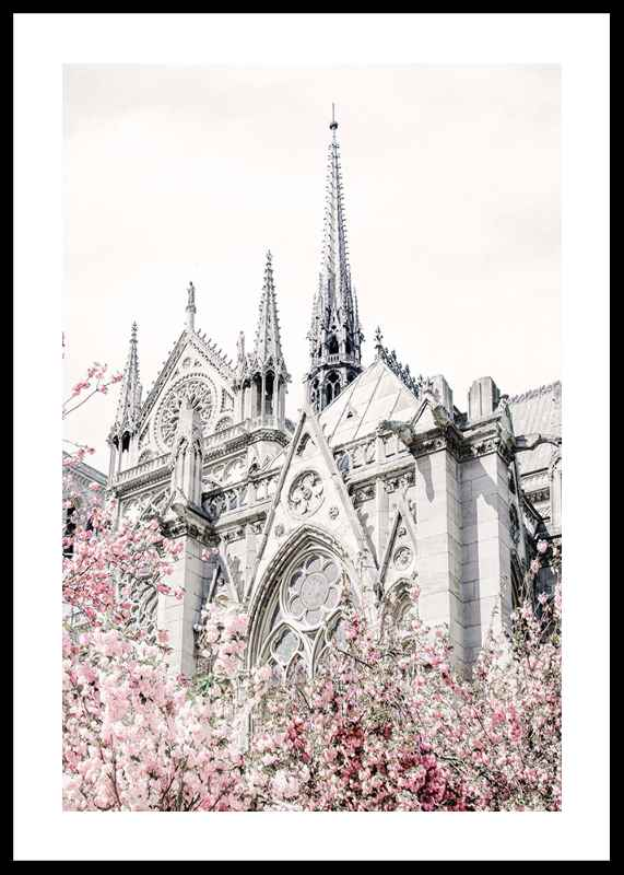 Church And Flowers-0