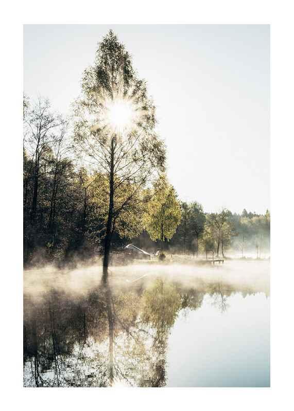 Lake At Sunrise-1