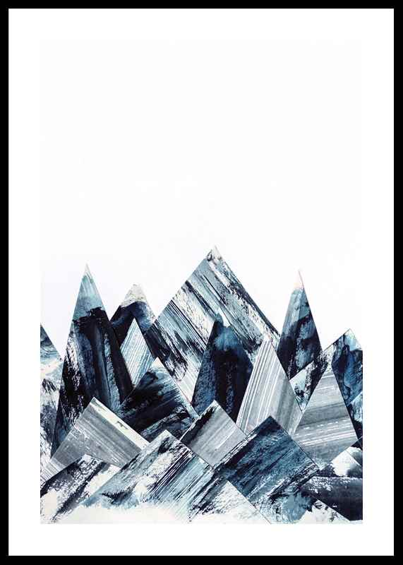 Abstract Paper Mountains-0