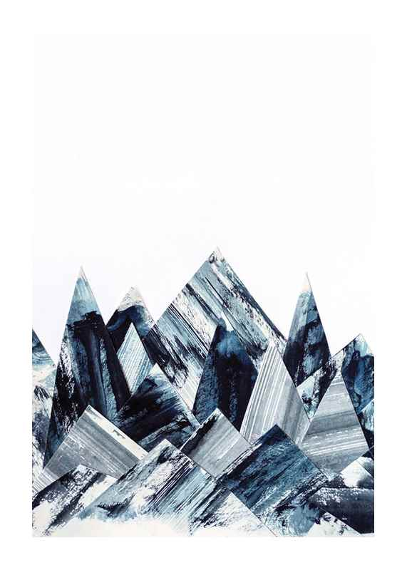 Abstract Paper Mountains-1