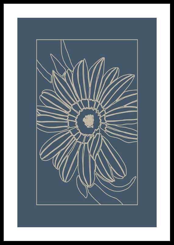 Botanical Line Art No3-0