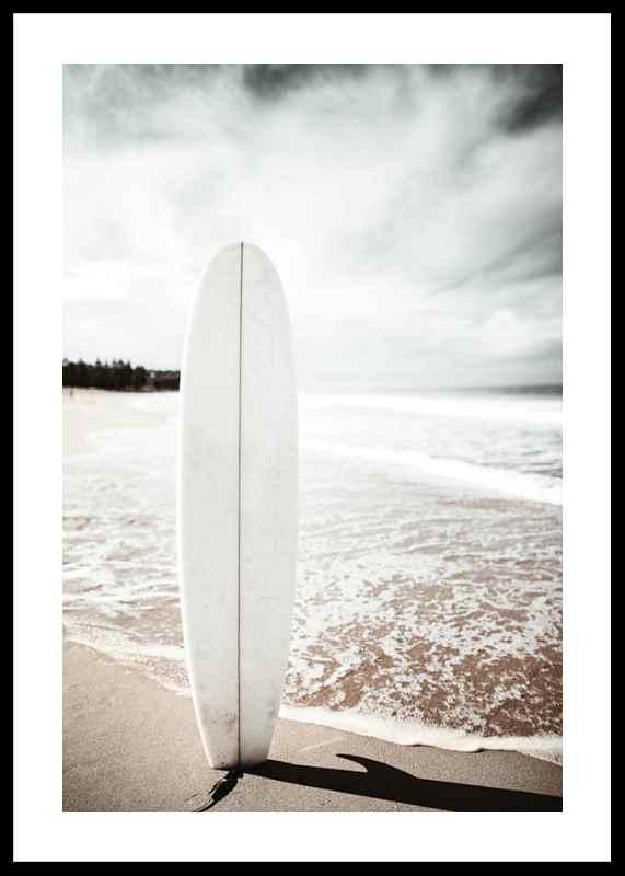 Standing Surfboard-0