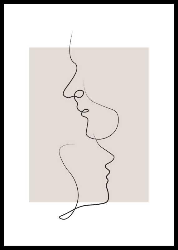 Shapes Line Art No3-0