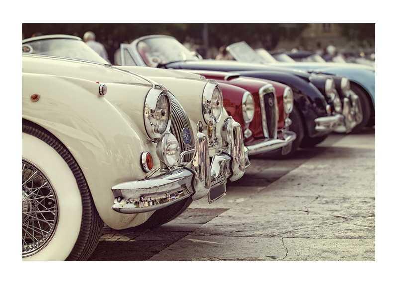 Retro Old Cars-1