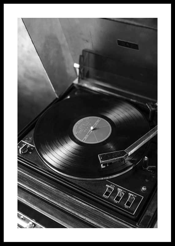 Vintage LP Player-0
