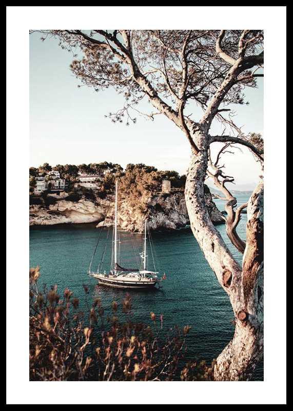 Boat In Bay-0