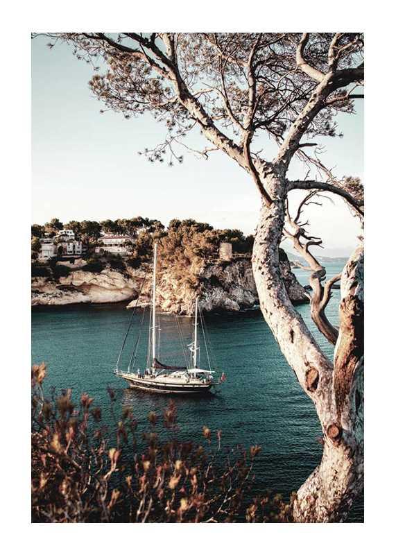 Boat In Bay-1