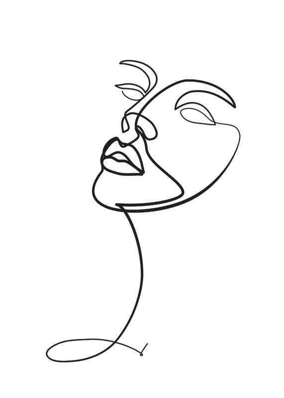 Line Art Face-1