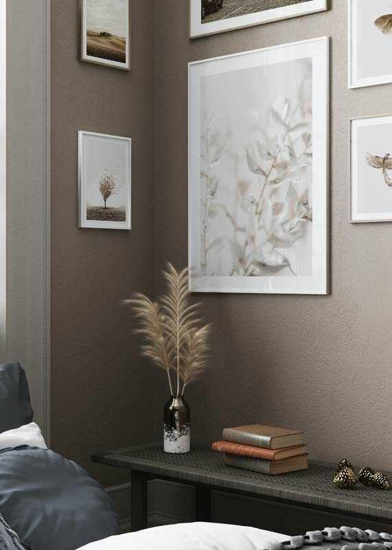White Dried Flower-4