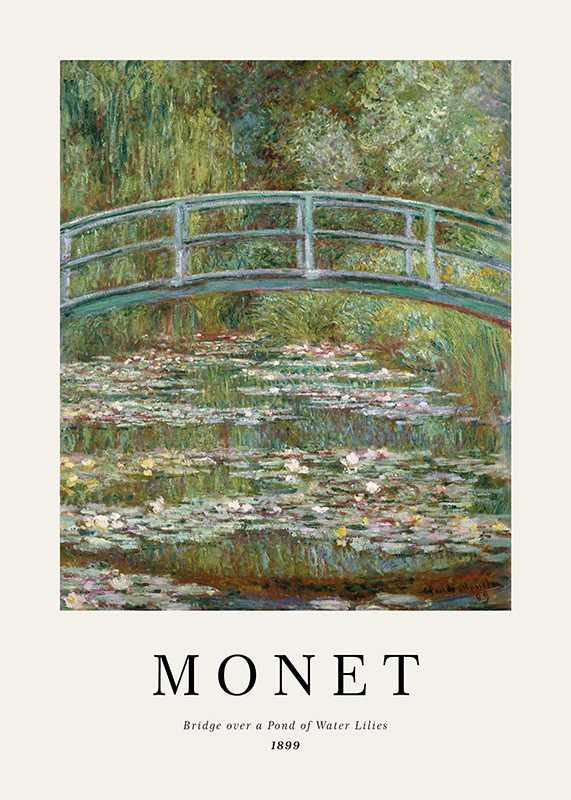 Monet Water Lily Pond-1