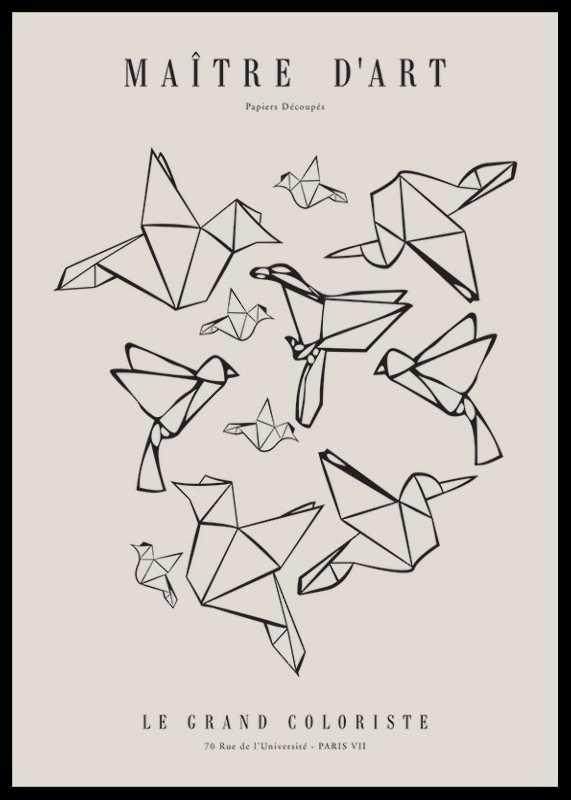Matisse Oiseaux De Papier