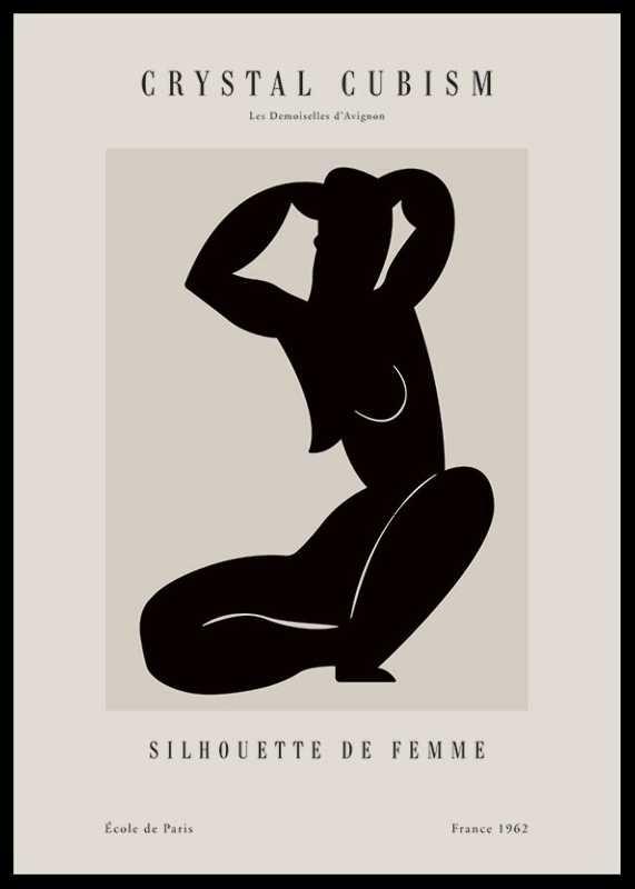 Picasso Femme Du Cubisme-0