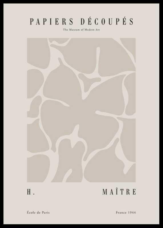 Matisse Papiers Decoupes No1-0