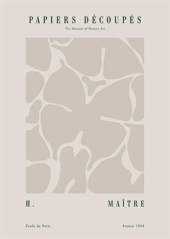 Matisse Papiers Decoupes No1-1