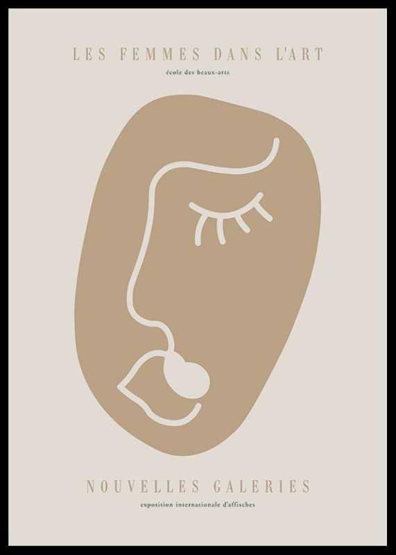 Picasso Rostro Femenino-0