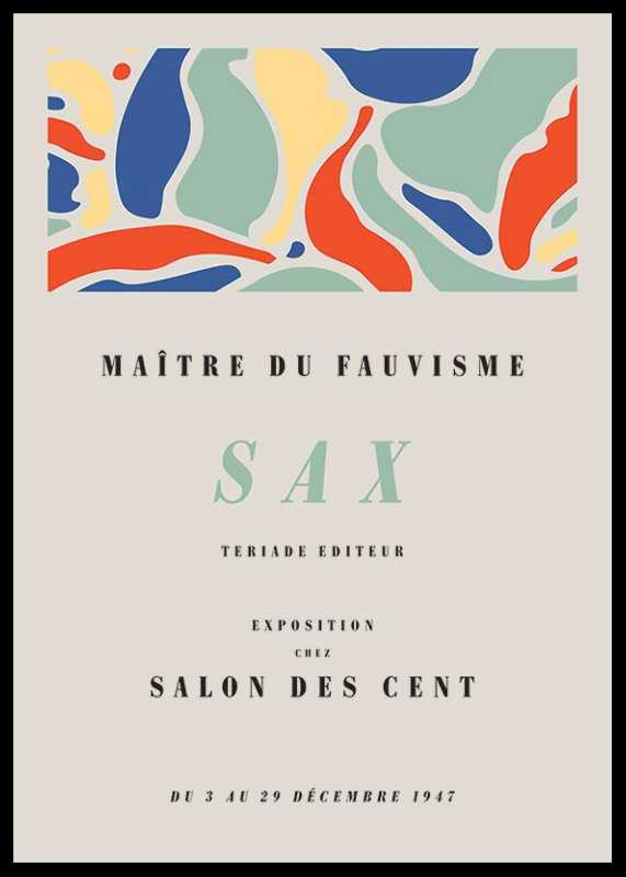 Matisse Exposition Sax-0