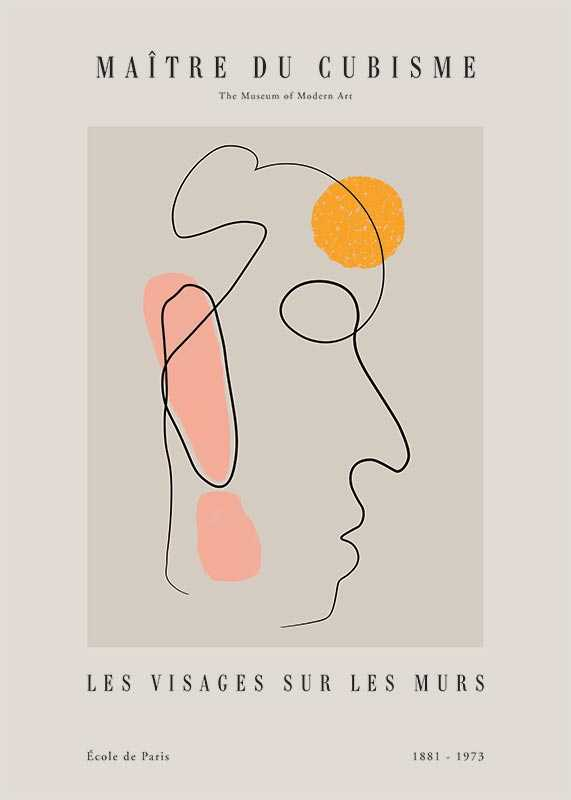 Picasso Maitre Du Cubisme No4-1